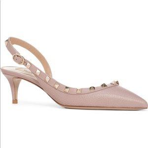 Size 10 / 40 Valentino Slingback Pump Heel